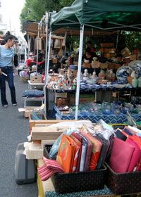 flea market booths