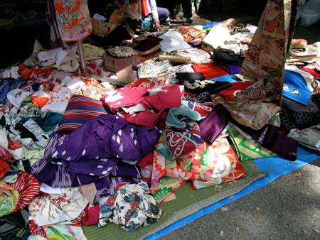 flea market kimono
