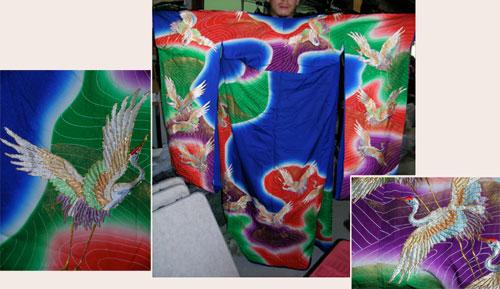 kimono embroidery