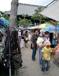 chion-ji flea market