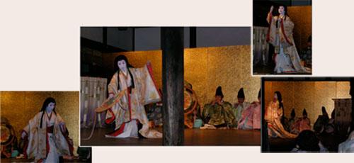 Gagaku performance at Shimogamo