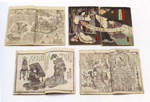 19th century Japanese manga
