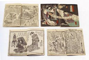 19th century Japanese manga