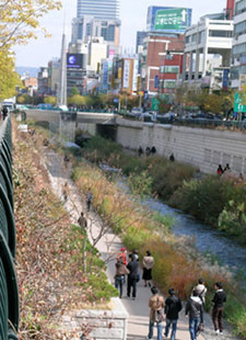 riverside park in Seoul