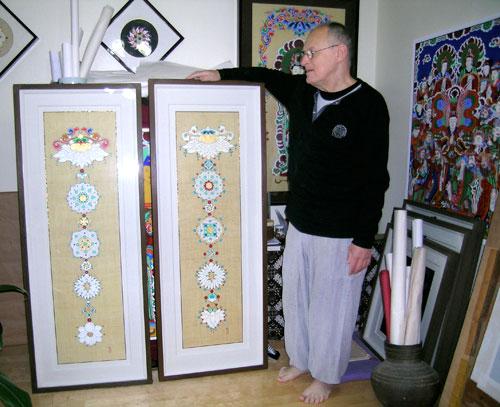 Brian Barry, Buddhist painter