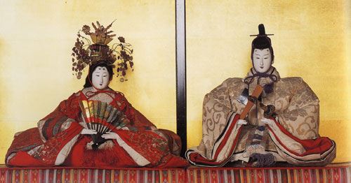 dairi-bina, Emperor and Empress Hina dolls