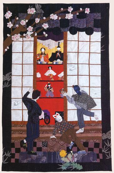 Hina Matsuri quilt