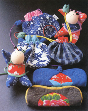 handsewn Japanese cloth toys