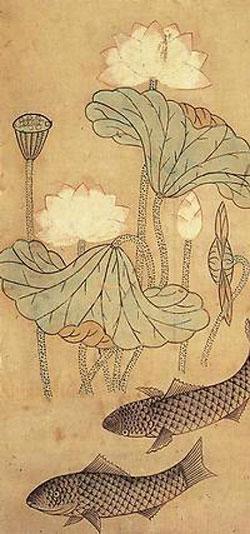 Korean painting, Koryo Museum, Kyoto, Japan